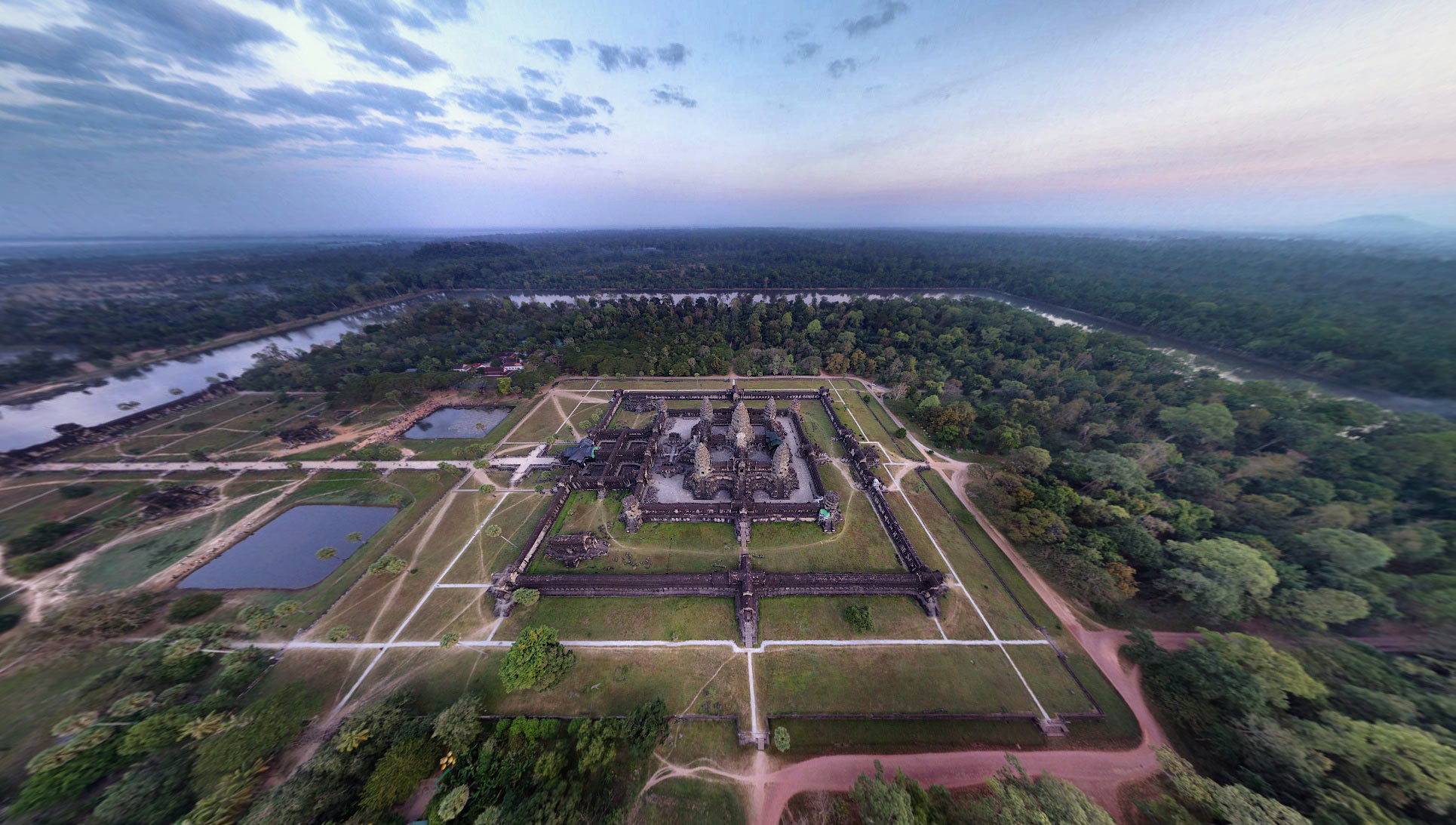 Angkor-from-the-air